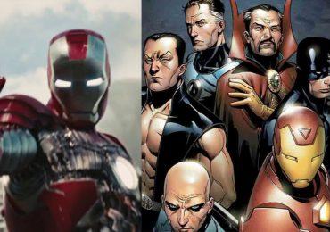 ¿The Illuminati estaban presentes en Iron Man 2?