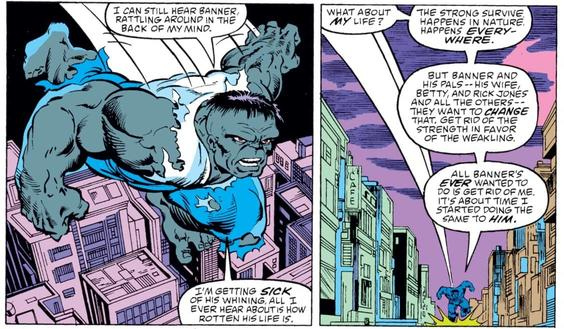 Top 5: Las diferentes personalidades de Hulk