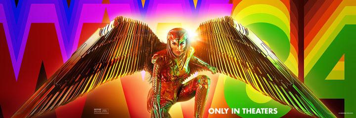 Wonder Woman 1984 libera dos nuevos e impresionantes posters
