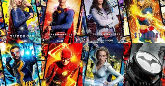 Las series del Arrowverse presentan increíbles pósters basados en cómics