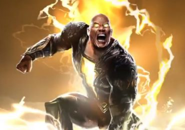 ¡Primera imagen de The Rock como Black Adam!