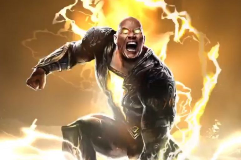 ¡Primera imagen de The Rock como Black Adam!