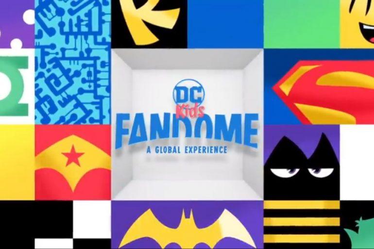 ¡Con DC Kids FanDome la diversión está garantizada!