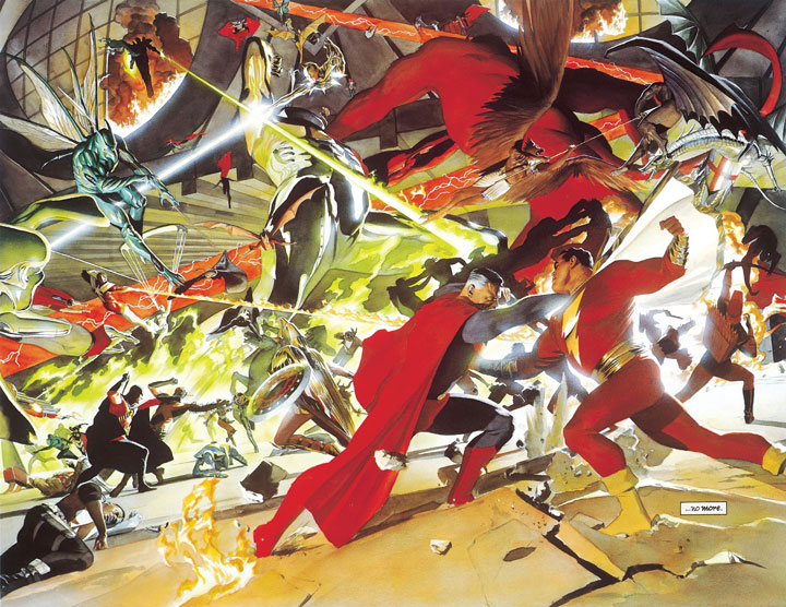 Alex Ross devela importantes easter eggs de Kingdom Come