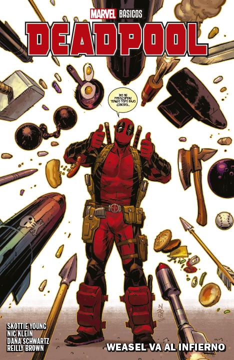 Marvel Básicos – Deadpool: Weasel va al Infierno