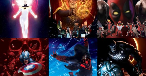 The End: Las figuras de Marvel encuentran su aventura final