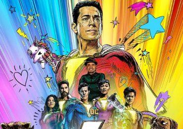 Zachary Levy comparte el primer póster de Shazam! Fury of the Gods