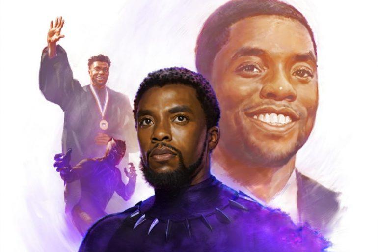 Marvel Studios rinde homeaje a Chadwick Boseman con increíble arte