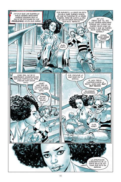 Cristales Rotos: aprendiendo a ser Harley Quinn - entrevista