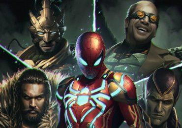 El mejor fant art de Spider-Man con los Seis Siniestros que verás