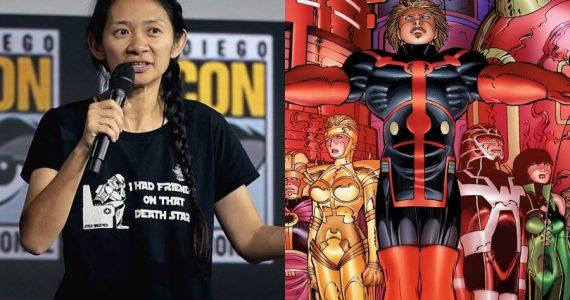 Chloe Zhao devela sus inspiraciones para realizar Eternals