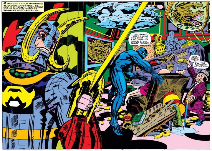 Los momentos icónicos de Jack Kirby en Marvel Comics
