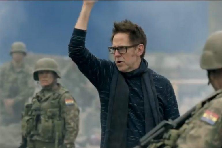 James Gunn desea que directores de DC lo visiten en Guardians of the Galaxy 3
