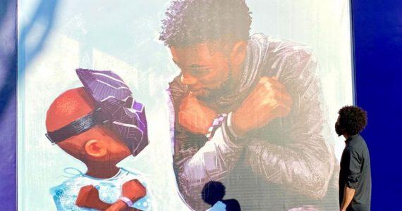 Nuevo mural en Disneyland rinde homenaje a Chadwick Boseman