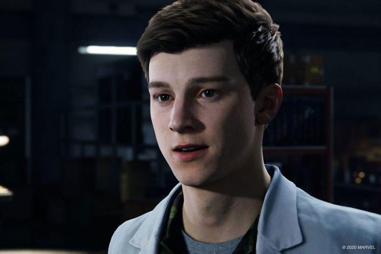 Peter Parker estrena rostro en el videojuego Spider-Man Remastered para PS5