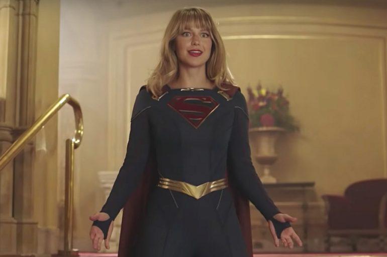 ¡Fue varón! Supergirl se ha convertido en mamá