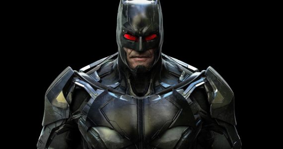 The Flash: Arte conceptual revela el aspecto de Thomas Wayne como Batman