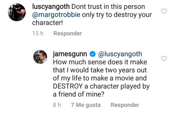James Gunn defiende el trabajo de Margot Robbie en The Suicide Squad