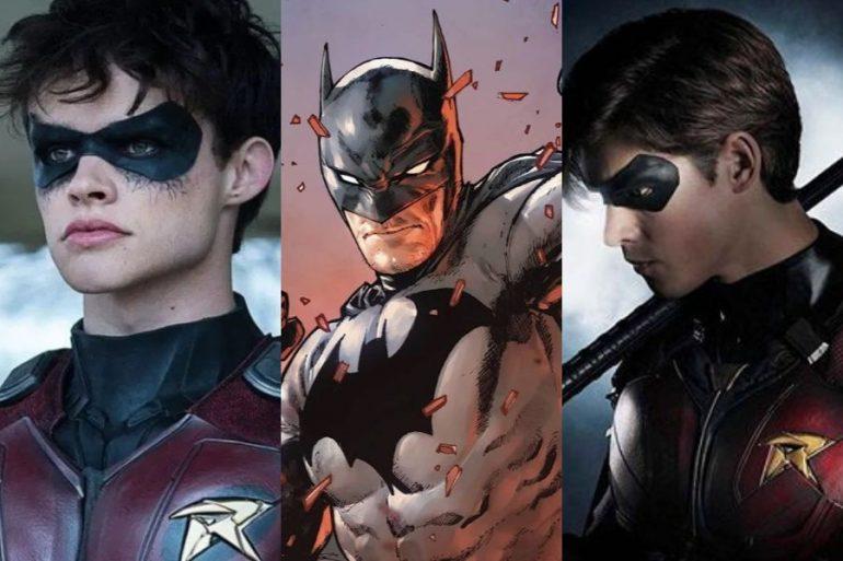 Batman se unía a Dick Grayson y Jason Todd en final alterno de Titans