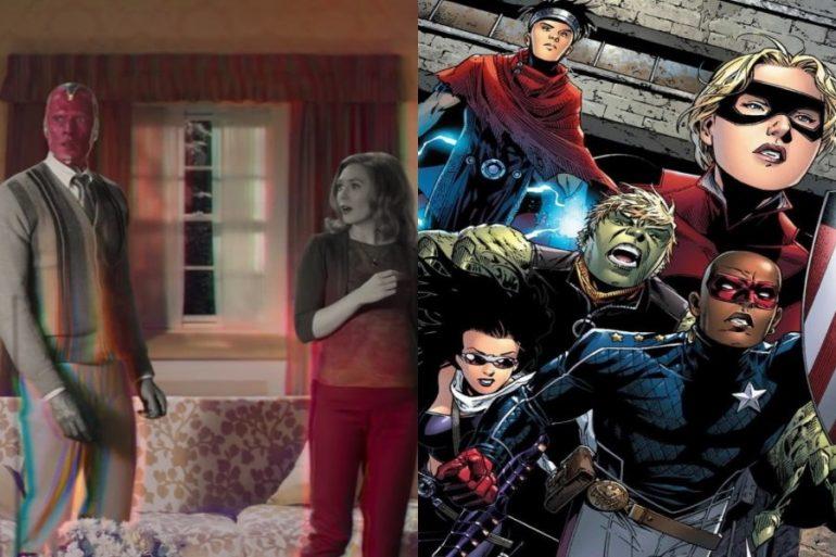 WandaVision sería la puerta de entrada de los Young Avengers en el MCU