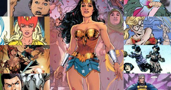 ¡Secreto develado! Conoce a todos los hijos de Wonder Woman