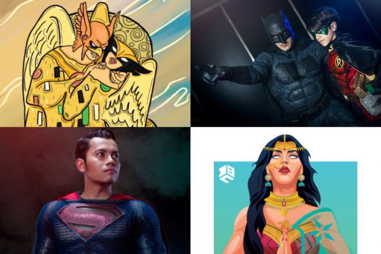 Conoce a los ganadores del concurso de arte y cosplay en la DC FanDome