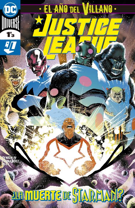 DC Semanal: Justice League: El Año del Villano #1