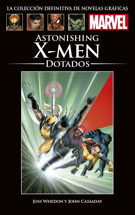 La Colección Definitiva de Novelas Gráficas de Marvel - Astonishing X-Men: Dotados
