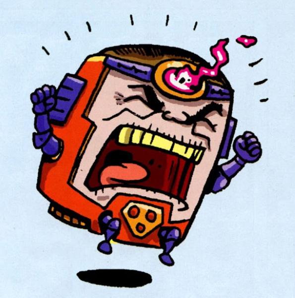 La serie animada MODOK ya cuenta con logotipo oficial