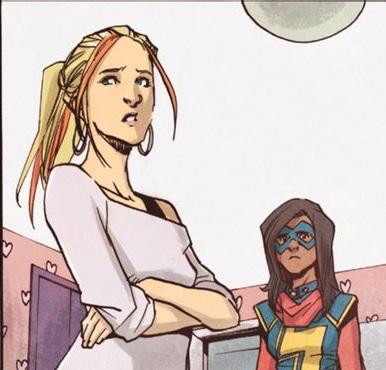 Ms. Marvel empieza a buscar personajes clave para la serie
