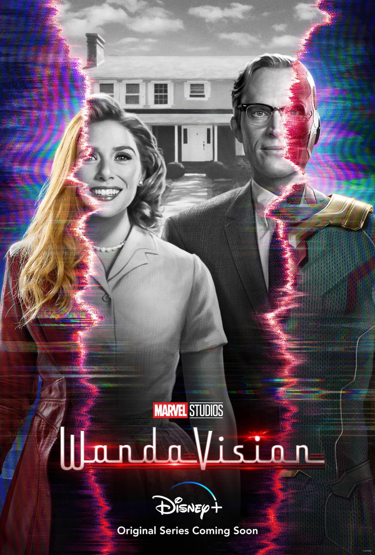 El primer póster e imágenes de WandaVision y análisis del tráiler