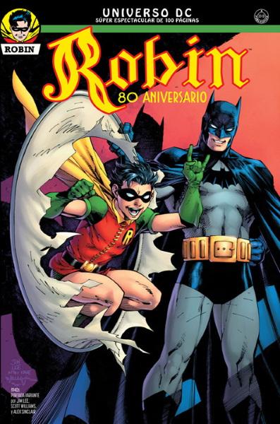 ¡Éstas son las portadas que encontrarás en el especial Robin 80 Aniversario!