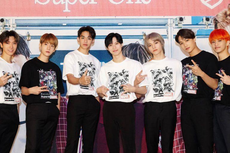 El grupo de k-pop SuperM anuncia nueva colección con Marvel