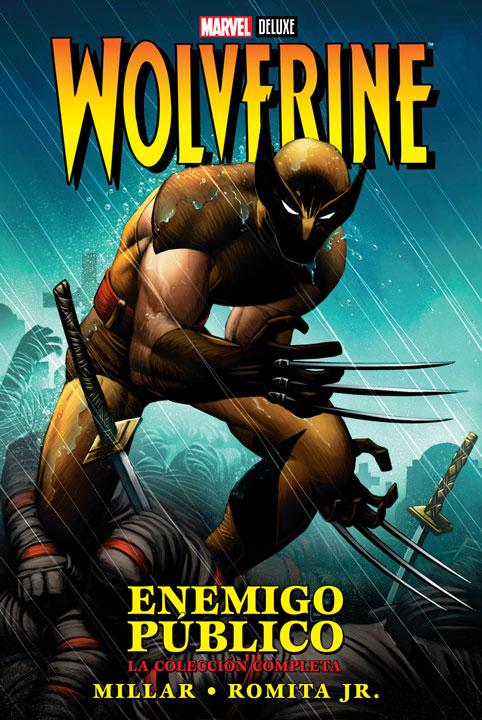 Marvel Deluxe – Wolverine: Enemigo Público La Colección Completa