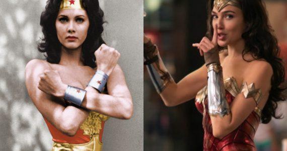 "Lynda Carter y Gal Gadot se ""unen"" en peculiar homenaje a Wonder Woman"