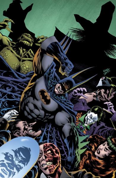 Kelley Jones explora los miedos en Batman: Kings of Fear