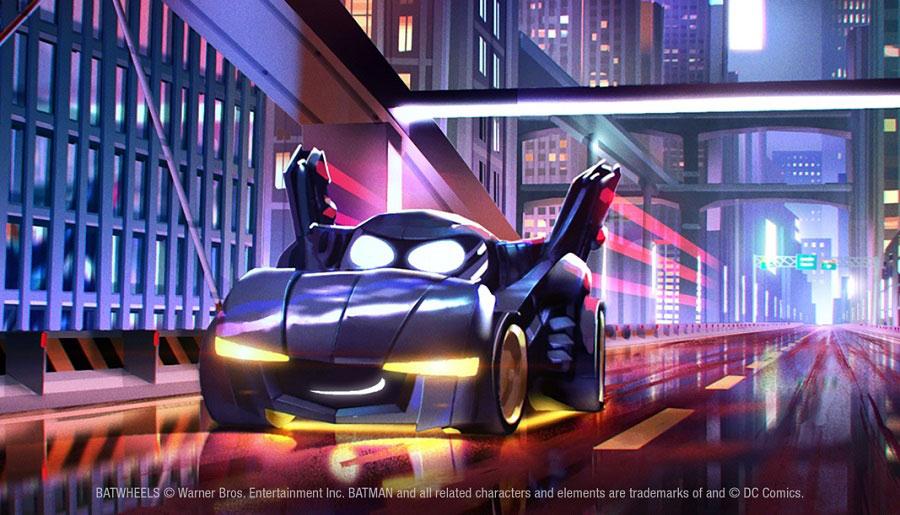 Batwheels promete mucha acción para los fanáticos más pequeños de DC