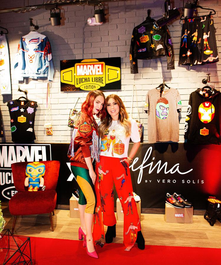 Belinda + MARVEL: llega la colección Lucha Libre X Josefina