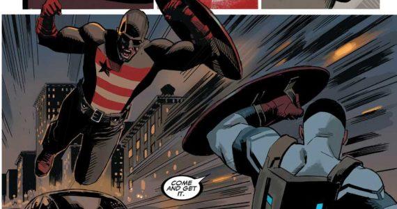 Brutal video de acción de US Agent en el set de Falcon and the Winter Soldier