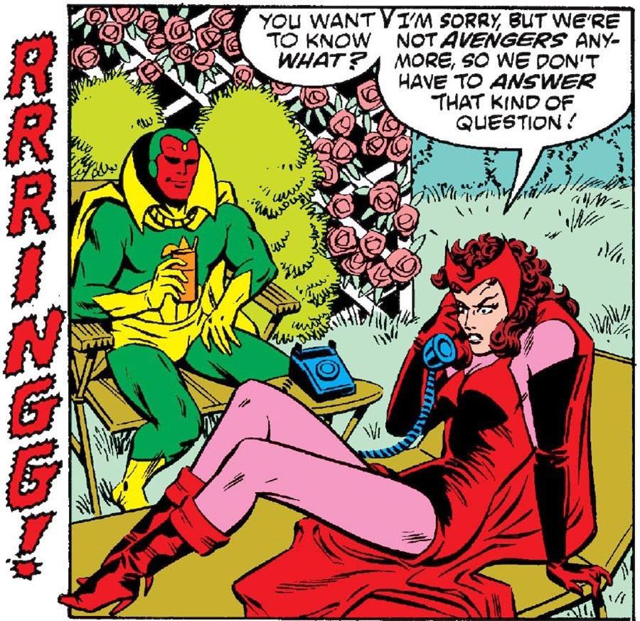 ¿Cómo se dio a conocer que Scarlet Witch y Vision serían padres?