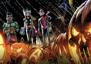 Halloween al estilo Marvel con los fondos virtuales para videollamadas