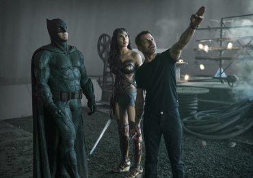 Zack Snyder comparte foto desde las regrabaciones de Justice League