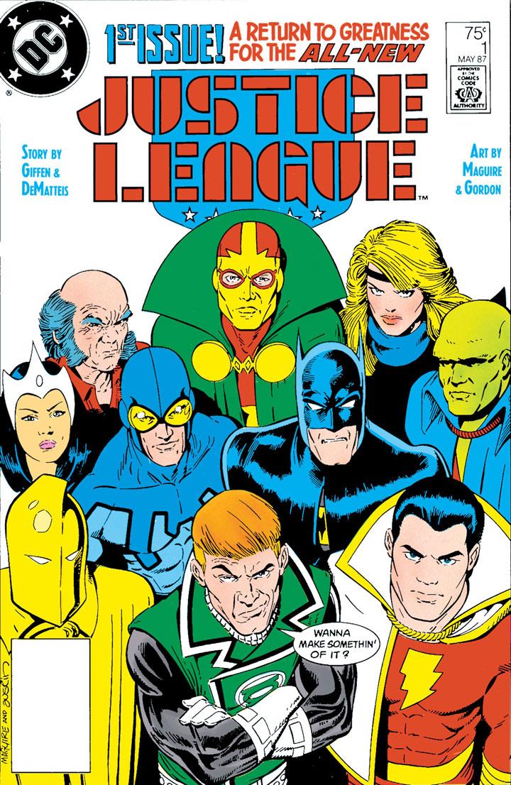 Kevin Maguire recrea su icónica portada de Justice League con sana distancia