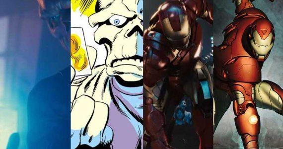 Momentos icónicos extraídos de los cómics para la Fase 1 del MCU