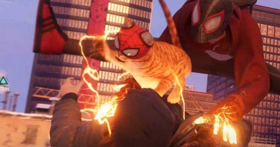 Spider-Man: Miles Morales presenta al mejor aliado del héroe, Spider-Cat