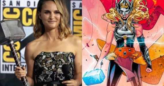 """Natalie Portman """"adelanta"""" la manera en la que se convertirá en Thor"""