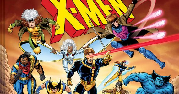 Un vistazo al libro X-Men: The Art and Making of the Animated Series.