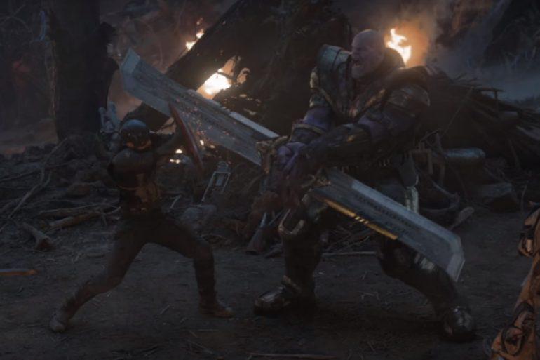 El Capitán América noquea a Thanos en nuevo arte de Avengers: Endgame