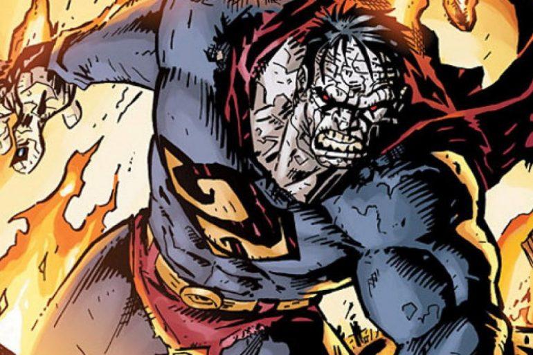 Así lucía Bizarro en un videojuego cancelado de Superman