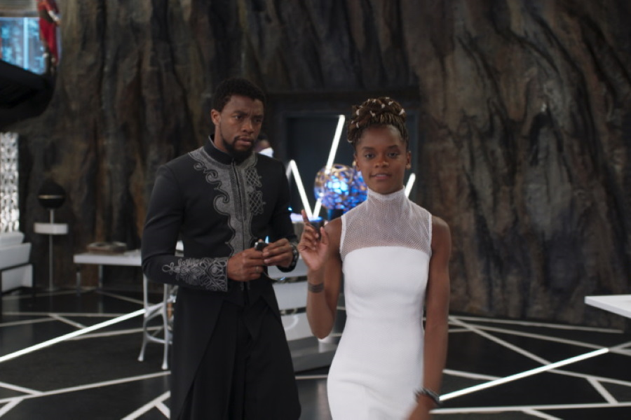 """""""Hacer Black Panther 2 sin Chadwick Boseman es extraño"""": Letitia Wright"""